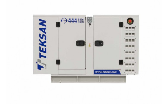 Дизельный генератор Teksan TJ9PE5C в кожухе