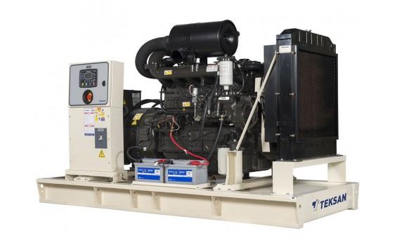 Дизельный генератор Teksan TJ110DW5L открытый