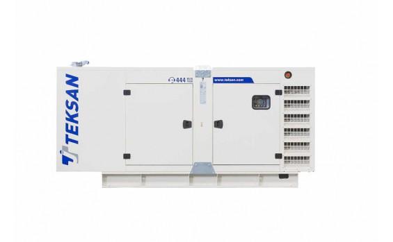 Дизельный генератор Teksan TJ90DW5C в кожухе