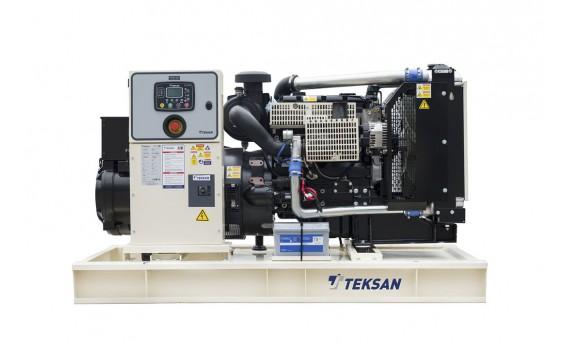Дизельный генератор Teksan TJ110PE5C открытый