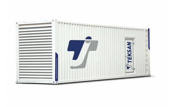Дизельный генератор Teksan TJ2500MS5L в контейнере