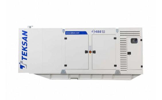 Дизельный генератор Teksan TJ440BD5C в кожухе