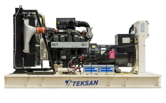 Дизельный генератор Teksan TJ350DW5C открытый