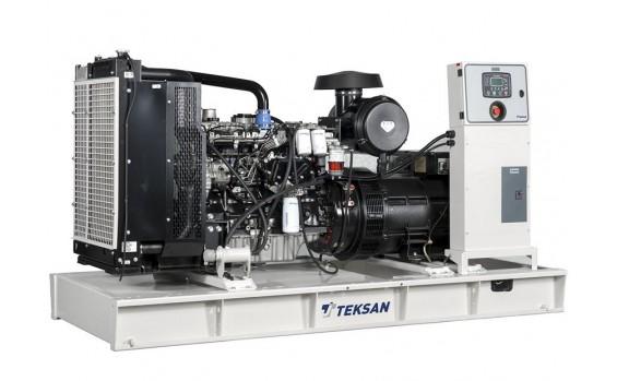 Дизельный генератор Teksan TJ150PE5L открытый