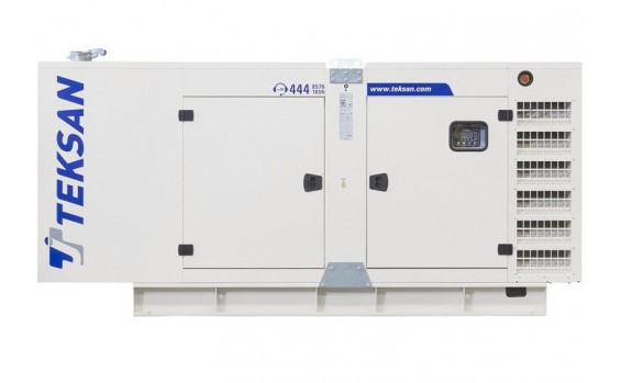 Дизельный генератор Teksan TJ27BD5C в кожухе