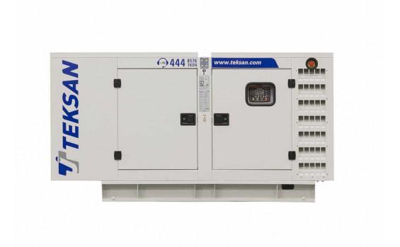 Дизельный генератор Teksan TJ110PE5L в кожухе