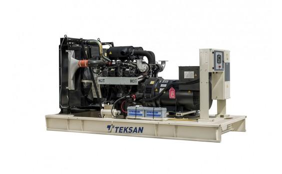 Дизельный генератор Teksan TJ440DW5C открытый