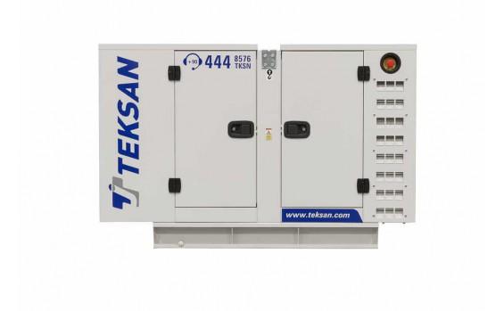 Дизельный генератор Teksan TJ14PE5C в кожухе
