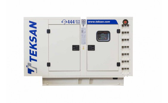 Дизельный генератор Teksan TJ11BD5L в кожухе