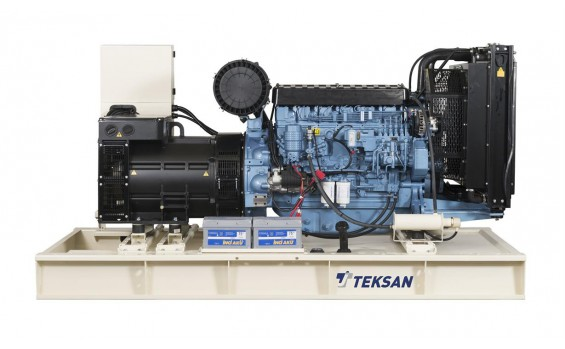 Дизельный генератор Teksan TJ330BD5L открытый