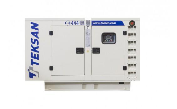Дизельный генератор Teksan TJ33PE5C в кожухе