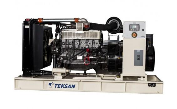 Дизельный генератор Teksan TJ275DW5L открытый