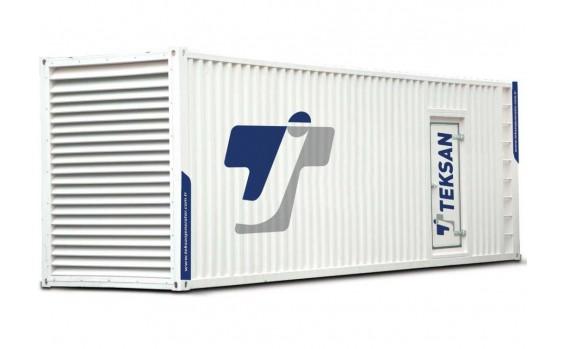 Дизельный генератор Teksan TJ1250PE5L в контейнере