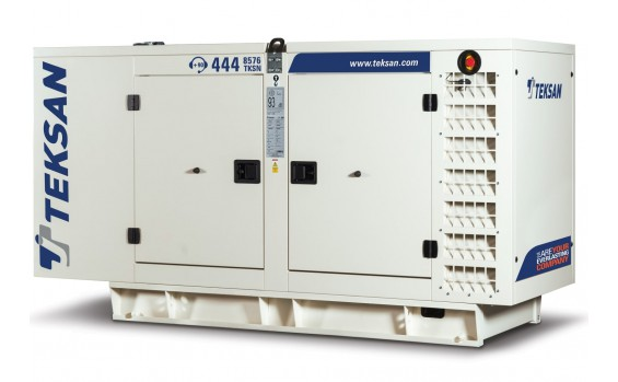 Дизельный генератор Teksan TJ750DW5C в кожухе