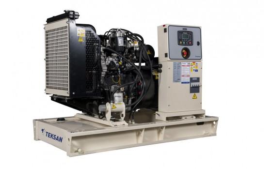 Дизельный генератор Teksan TJ66PE5C открытый