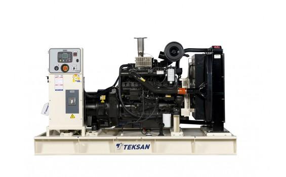 Дизельный генератор Teksan TJ220DW5C открытый