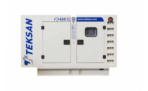 Дизельный генератор Teksan TJ27BD5L в кожухе