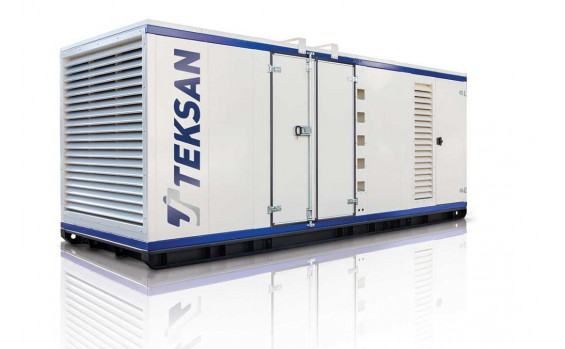 Дизельный генератор Teksan TJ1485BD5L в контейнере
